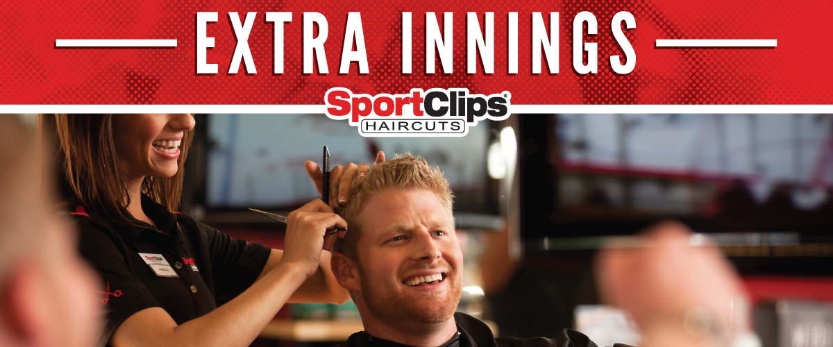 The Sport Clips Haircuts of Folsom - Raleys Parkway Center Extra Innings Offerings